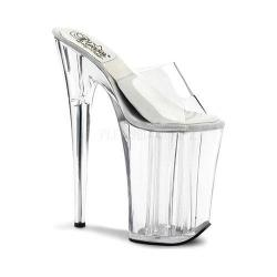 Women's Pleaser Sol 901-O Clear/Clear