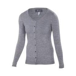 Women's Ibex Harmony Cardigan Stone Grey Heather