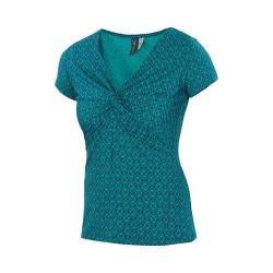 Women's Ibex Twist T Shirt Mosaic Print/Waterfall
