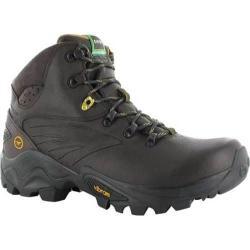 Men's Hi-Tec V-Lite Flash Hike I Waterproof Hiking Boot Chocolate/Core Gold Leather
