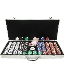 Trademark Poker 650-pc. 11.5g Dice Poker Chip Set 1135576