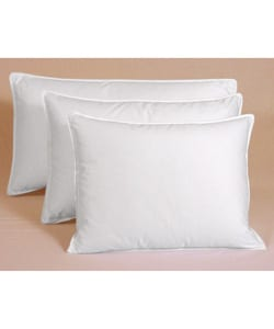 Egyptian Cotton 375 Thread Count Siberian White Down Pillow