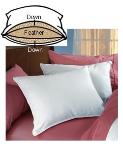 Circle of Down Pillows (Set of 2)