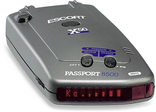Escort passport 8500 x50 b