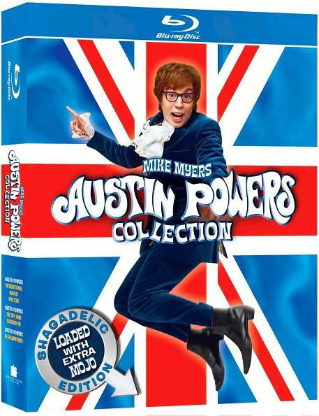 Austin Powers Collection: Shagadelic Edition Loaded With Extra Mojo (Blu-ray Disc) 4158474