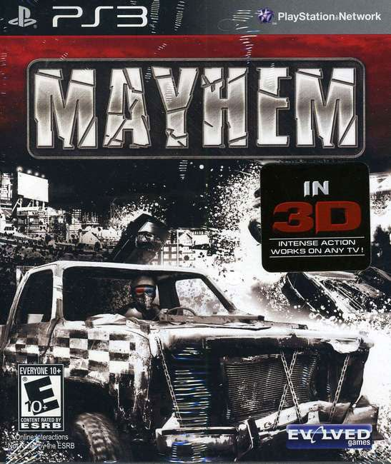 PS3 - Mayhem 3D - By Zoo Games