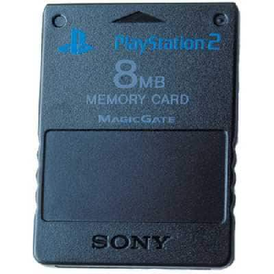 Playstation 2 Memory card (παίξτε αντίγραφα χωρίς τσίπ)