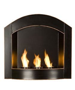 Overstock - Arch Top Wall Mounted Gel Fuel Fireplace - $179.99