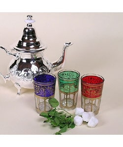 Moroccan Tea Glasses, Set of 6 (Morocco)