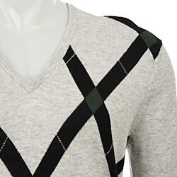 Ben Sherman Men's Wool Blend Amaretto Sweater