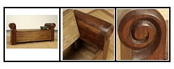 Colonial Trunk Bench (Colombia) : Furniture from Overstock.com :  home furniture colonial wood