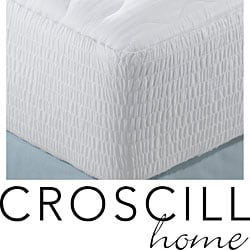 Croscill Cotton Sateen 300 Thread Count Mattress Pad