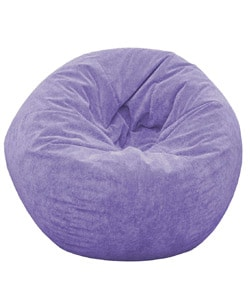 Gold Medal Sueded Corduroy Adult Beanbag (Lilac)