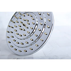 Milano Chrome/ Polished Brass Showerhead