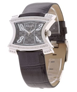 Krizia Women's Black Dial Diamond Watch