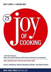 Joy of Cooking 75th Anniversary Edition by Irma S. Rombauer (Hardcover)