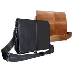 Leather Teddy Shoulder Bag