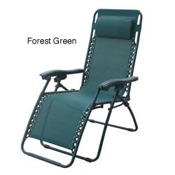 Deluxe Zero Gravity Outdoor Folding Recliner