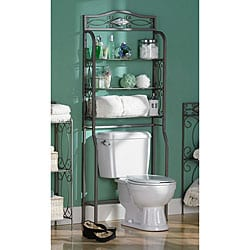 OVER THE TOILET STORAGE | WAYFAIR - BATHROOM STORAGE, STORAGE CABINETS