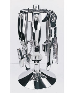 6 Piece Stainless Steel Bar and Kitchen Tool Set