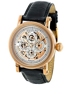 Stuhrling Original Symphony Men's Skeleton Automatic Watch