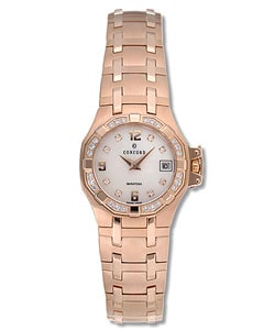 Concord Saratoga Women's 18k Pink Gold Watch : Women's Watches from Overstock.com :  watch gold 18 k pink gold watch pink watch