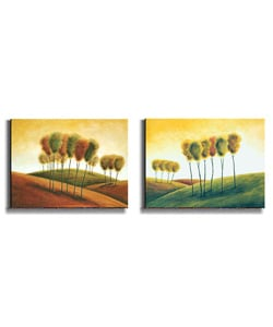 A New Morning by M. Klung Stretched Canvas Art Set