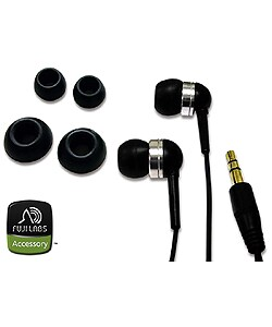 Overstock - Fuji Labs Acoustic Sealing Silicon Headphones - $10.99