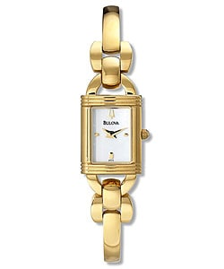 Bulova Goldtone Women's Bracelet Quartz Watch