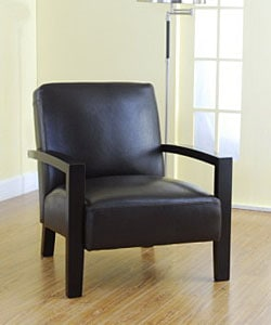 Overstock - Roadster Leather Chair - $264.99