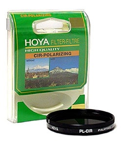 Hoya 55mm Circular Polarizer Glass Filter 2962044
