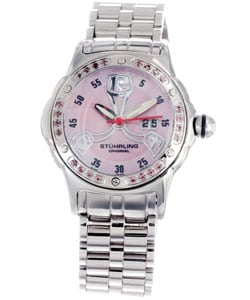 Stuhrling Original Women's Alpine Le Femme Gemstone Watch