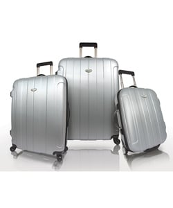 Traveler's Choice Rome 3-piece 'Spinner' Hardside Luggage Set