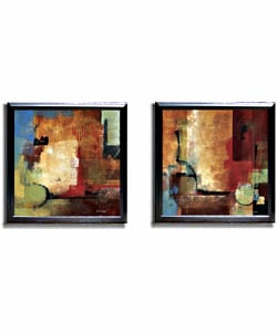 Discoveries & Crosscurrents Framed Canvas Set