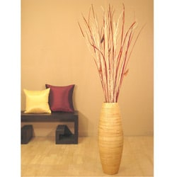 Cylinder Vase & Floral Arrangement : Home Decor from Overstock.com :  floral home decor vase