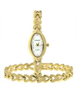 Dufonte by Lucien Piccard Hearts Bracelet/ Watch Set