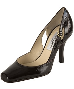 Jimmy Choo Crushed Patent Leather Pumps : Designer Store from Overstock.com :  pumps designer jimmy choo crushed patent leather pumps overstockcom