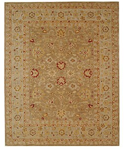 Ancestry Tan/ Ivory Wool Rug (8' x 10')