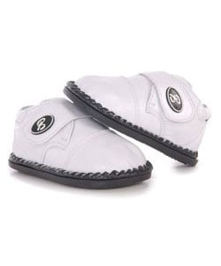 Papush White Leather Casual Walking Infant Shoes