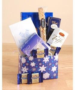 Winter Greetings Gift Basket