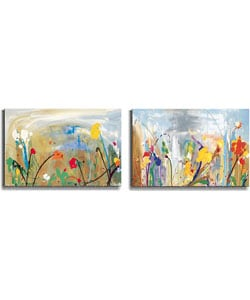 Tenor and Bryony Set - Daniel Phill Stretched Canvas