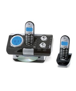 Home Zone CD Phone Center with CD Playback