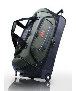 Coleman Lightweight Rolling Drop-bottom Duffel Bag