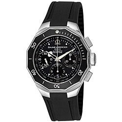 Baume & Mercier Riviera Black Automatic Watch