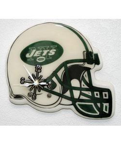 NY Jets Helmet Clock
