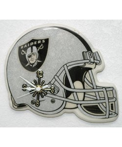 Raiders Helmet Clock