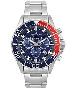 Jacques Lemans Men's Geneva Chrono Watch