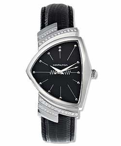 Hamilton Ventura Men's Steel Quartz Watch