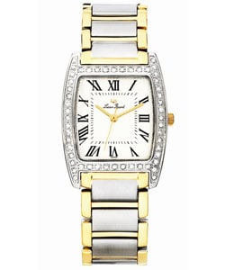 Lucien Piccard 'Bonaventura' Two-tone Steel Diamond Watch