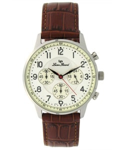 Lucien Piccard 'Arden' Men's Ivory Dial Watch